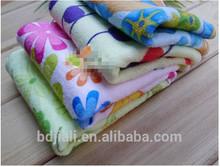 micro fiber brand logo printed towel