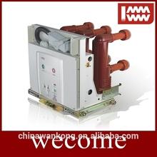 Incorporado de interior tipo tipo de vacío 11 KV disyuntores alta equipos de tensión