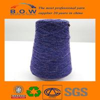 high bulk hb polyester yarn/cone yarn bulked brand B.O.W/black annealed wire buy from anping ying hang yuan
