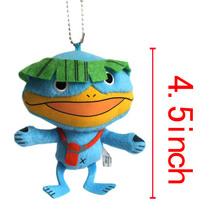 "Wholesale Anime Youkai Watch Plush toy Lanyards 4.5"" Cartoon plush doll Anime toys Cute Anime stuffed doll Mini cartoon toy"