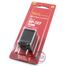 Good service for Canon BP-727 camera batteries