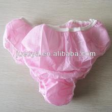 Jeune femme jetable non tissé tissu sous - vêtements