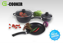 High Quality Eco-Friendly Die Cast nonstick cookware sets