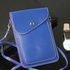 Shoulder strap leather phone bag, fashion phone bag, mobile phone case