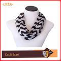 2015 мужской моде полосатых вязание шарф