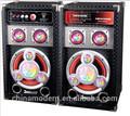 Active powered subwoofer pro com usb/sd/fm/entrada mic/controleremoto funções, palestrante módulo amplificador de potência