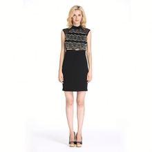 Low Price Good Quality 2014 Hottest Sleeveless Sex Girls Dress