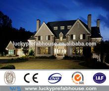 long living years prefab luxury modern steel villa