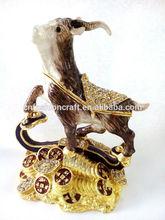 sheep chinese zodiac sheep jewelry box ,goat trinket box trinket box wholesale