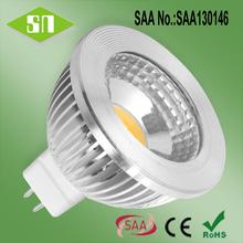 50w equivalent 5w mr16 3000k dimmable mr16 gu10 e27 led spot light