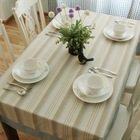 cotton printing square table cloth