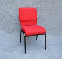 wholesale cheap metal & fabric durable stadium church cinema chair