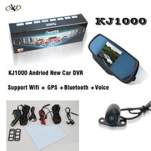 KJ1000 Free Android 4.0.3 GPS navigation Bluetooth wifi GPS 4.3/5 inch camera wifi car
