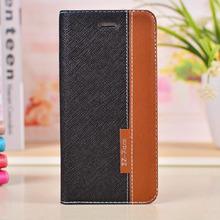 Phone custom Matte PU Leather Case For IPHONE 6 plus