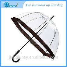 Shangyu 2014 top-grade market sell High fashion Automatic umbrella clear pvc