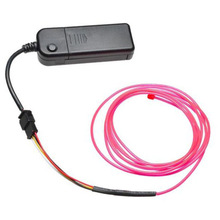 2.3MM Neon Light Glow Motion Chasing EL Wire