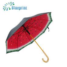 Fancy and fashion fruit printing decoration umbrellas