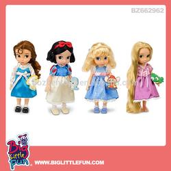16 inch kids cartoon character princess doll toy