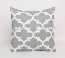 Tile Gray and white Morrocan pillow Cover,Tile Gray and white Morrocan pillow Case