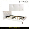 Faux PU Bed Crystal Leather Bed Frames SS8023