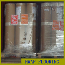 Magnificent Wear-resisting wood basketball PVC sports flooring / PVC Bastetball Sport Flooring for indoor use