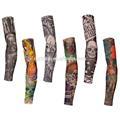 Personalizado sublimado temporária fresco decorativo tatuagem do braço mangas projeto
