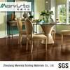 commercial grade wood grain plastic floor covering for shopping mall school hospital