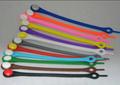 2014 chegada nova promoção presentes silicone laço de sapata atacado colorida do silicone barato cadarço