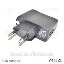 Standard ego adaptor for e-cigarette