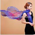 gros foulard de soie impression numérique impression élastique