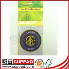 Custom,paper jasmine scent classic car air freshener ,lavender scent