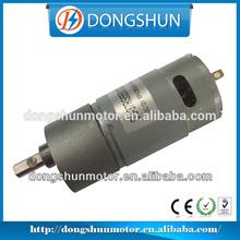 DS-37RS555 37mm diameter gearbox 12v dc motor generator