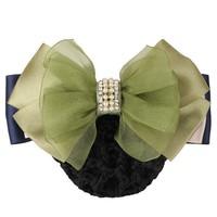 wholesale gauze Hair Net Donut Snood Bun for Office women Nurse waitress Decoration Hair Accessories HF81687