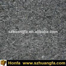 Chikoo Pearl Granite, black grey granite floor tile