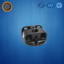 CNC milling 6061 aluminum black finish small run and production