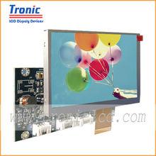 S-Video/AV/PC-RGB Signal of Panel Model AT056TN2,5.6inch vga board