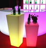 professional led unique stool& led furniture bar table for sale