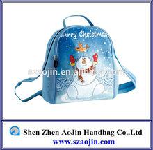2014 newest style neoprene pretty smile custom backpack