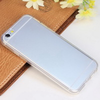 Ultra thin transparent TPU Gel case for Iphone 6 4.7 inch slim back cover fashion