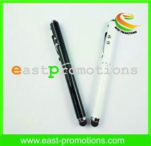Good Quality Custom Logo Promotional LED Light Pen/LED torch pen/LED Pen with clip