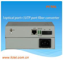 10 / 100 M double fiber monomode 80 km fiber optique laser émetteur et récepteur