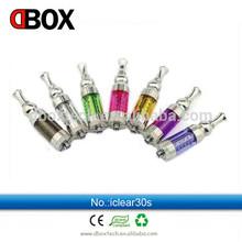 Di alta qualità clearomizer sigaretta elettronica iClear 30s/atty/kayfun/attacco/vulcan/iClear 30s atomizzatore