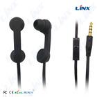 China factory glowing earphone headphone sport earphone mp3 player silicone earphone rubber cover