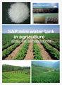 absorção de água de gel de polímero para uso agrícola