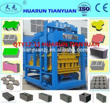 QTY12-15 Automatic Hollow /Paving block making machine/concrete interlock making machine to make concrete blocks