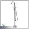 Fashional contemporary style chrome treatment single handle free standing tub faucet Y003