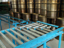 Amex conveyor for 210L 55 gallon middle speed steel drum making machine or steel drum production line