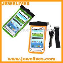 For iphone6 plus 5.5 neck hanging plastic waterproof phone bag