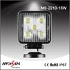 Heavy Duty 12V 15W LED Work Light, 15watt LED Tractor WorkLight