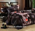 3d impresa cepillado poliéster hoja de cama de tela